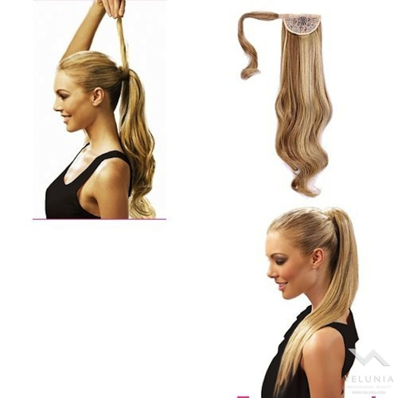 Extension hairband clip-on 2