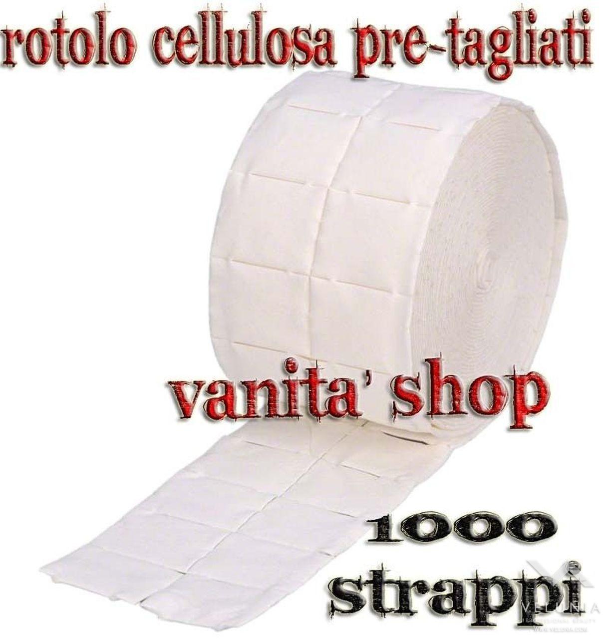 ROTOLO 1000 PADS DI CARTA CELLULOSA PER RICOSTRUZIONE UNGHIE 1