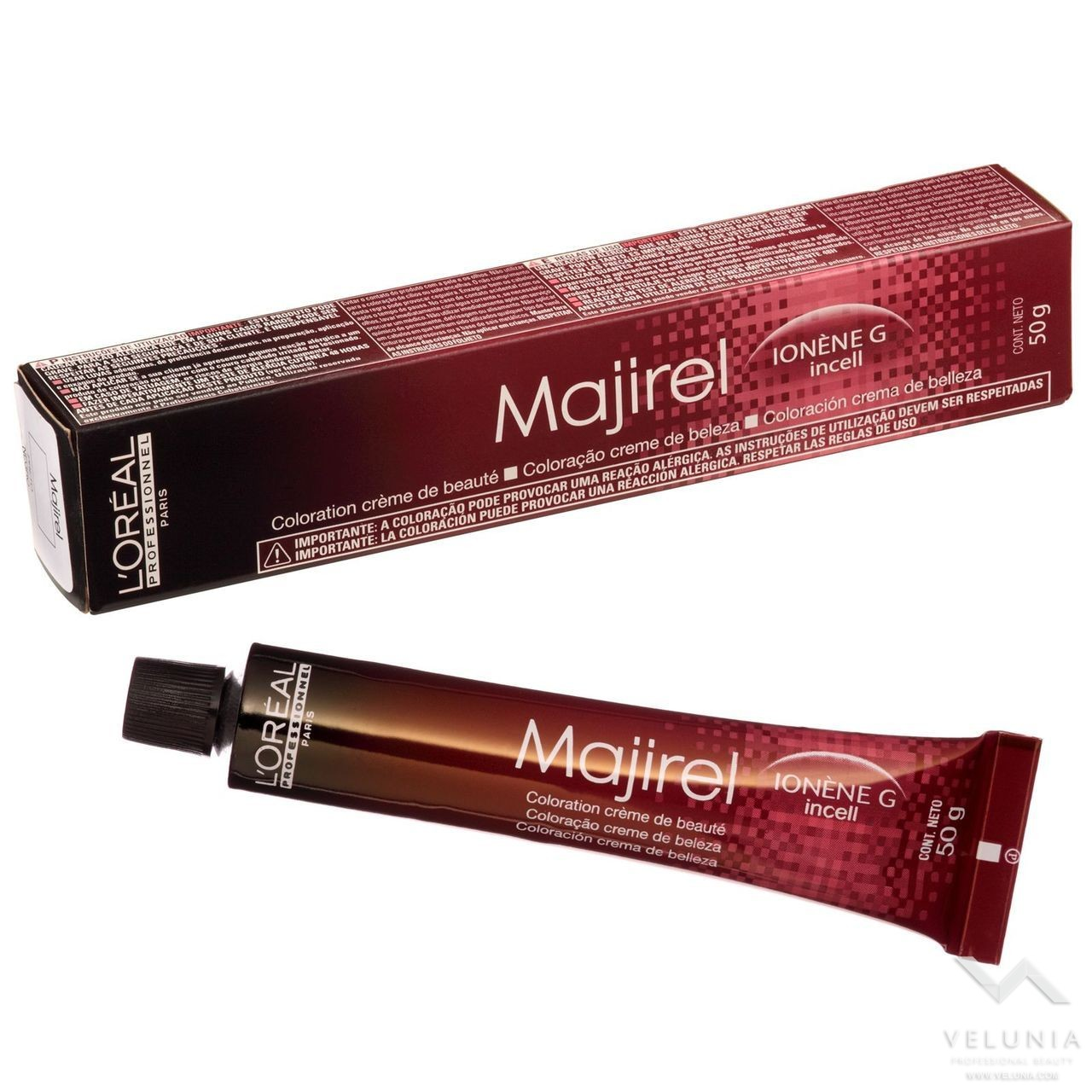 L'Oreal Majirel - N°7.24 Biondo Irisèe Rame 1