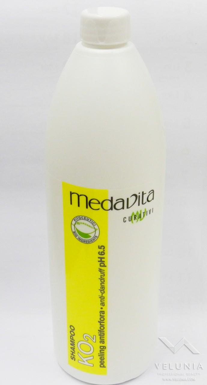 Shampoo peeling antiforfora medavita KO2 da litro 1