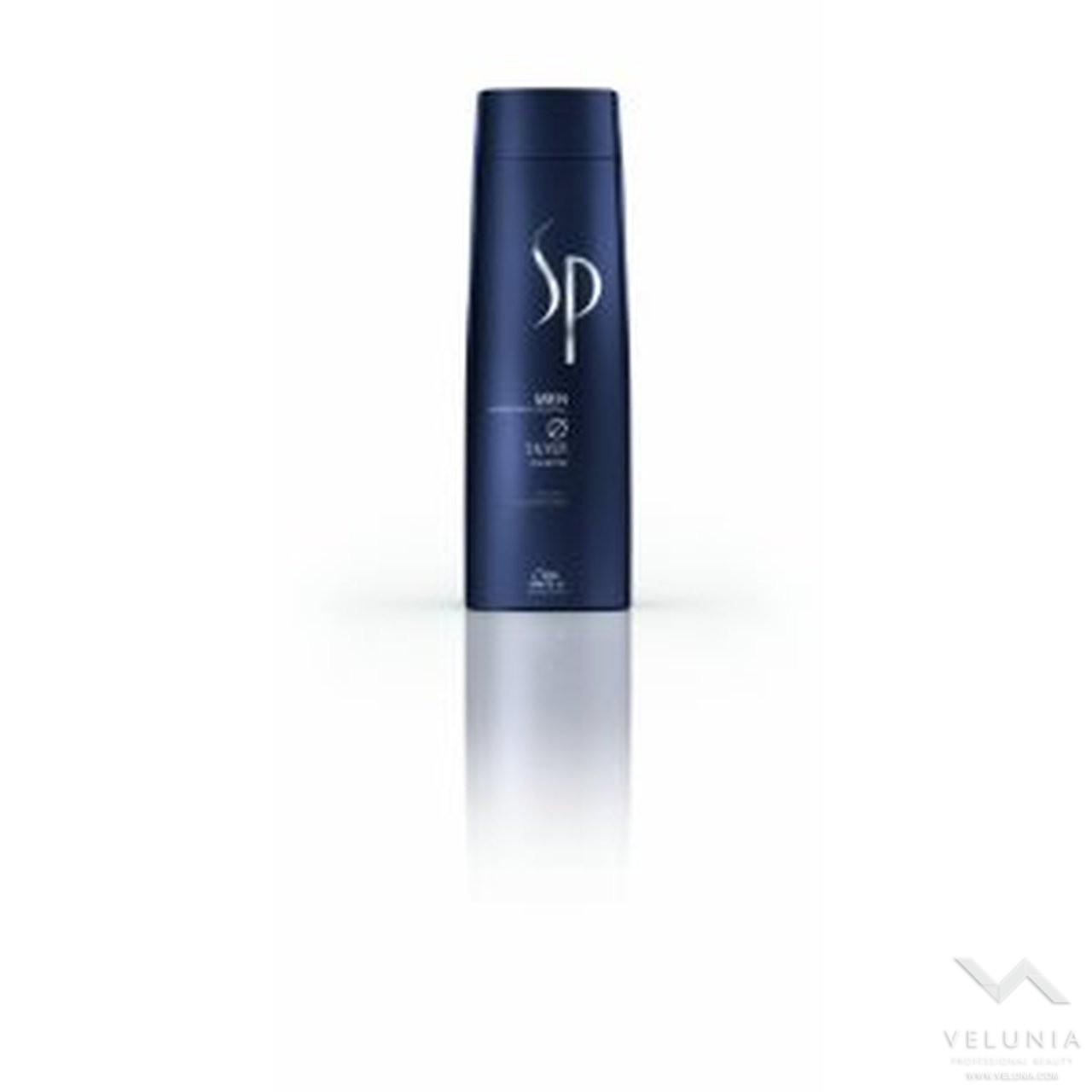 Wella sp System Professional Men Silver Shampoo 200ml 1