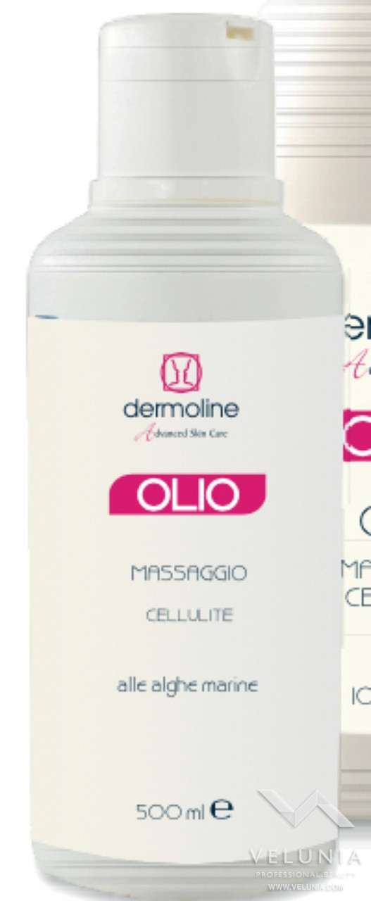 olio massaggio trattamento cellulite e adiposità 500ml a uso professionale 1