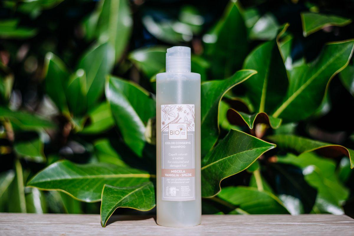 Shampoo Biologico Color Conserve  per capelli trattati chimicamente 250 ml