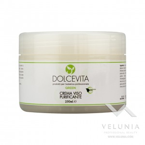 Crema Viso Purificante - Dolcevita Green - Vaso  250 ml 1