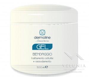 gel bendaggio trattamento a freddo cellulite + rassodamento 500ml a solo uso professionale