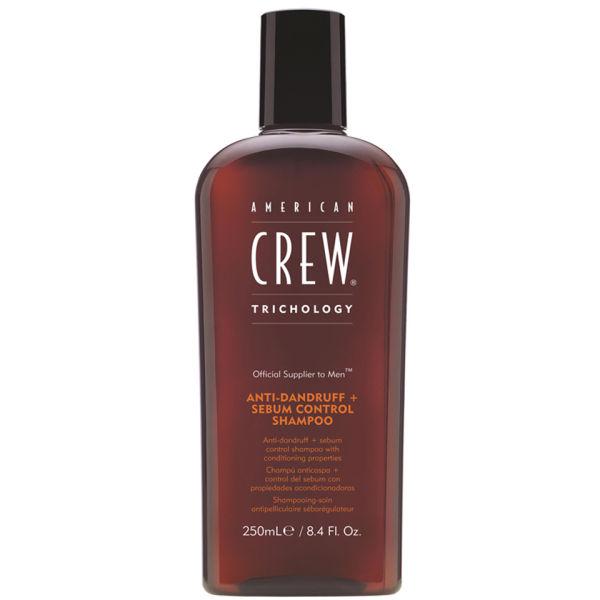 AMERICAN CREW Anti Dandruff Sebum Control Shampoo 250ml