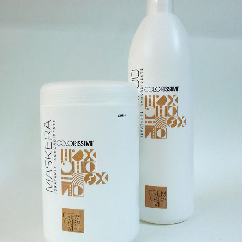 COLORISSIMI Shampoo Idratante Ammorbidente 1000ml CREM CARAMEL