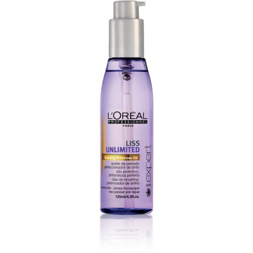 L'OREAL Expert Liss Unlimited Shine Perfecting Blow-Dry Oil 125ml