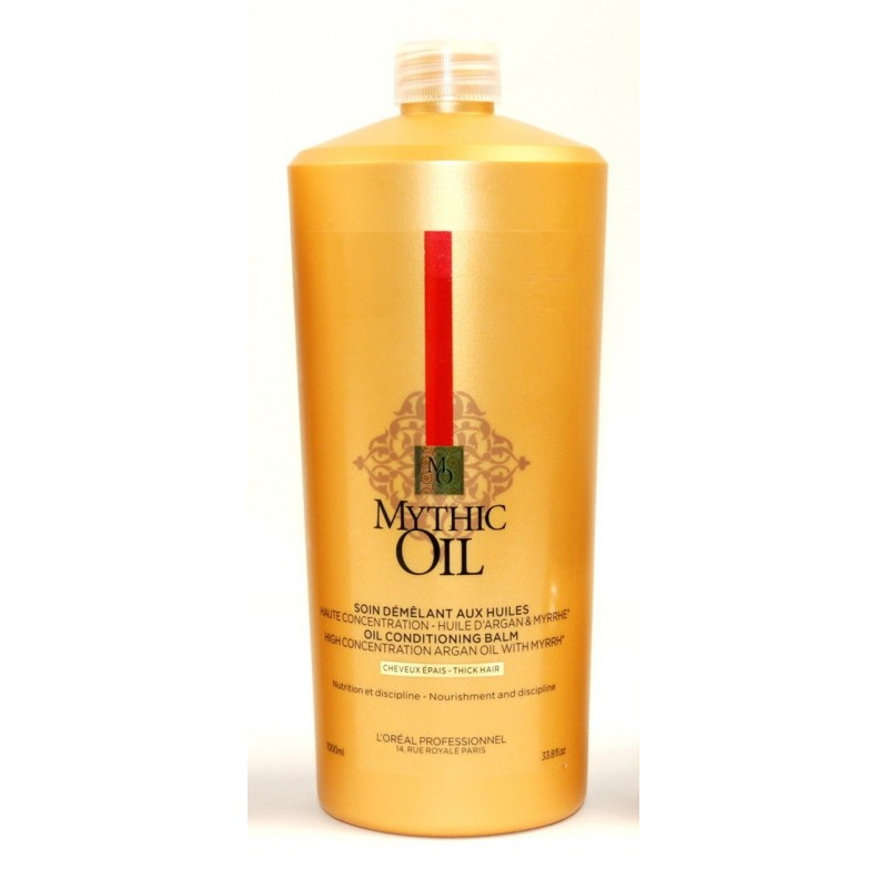 L'OREAL Mythic Oil Balsamo Capelli Spessi 1000ml