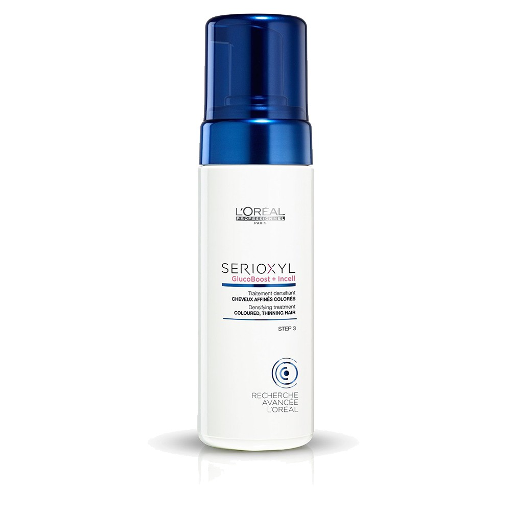 L'OREAL SERIOXYL Densifying Treatment Mousse 125ml STEP 3 Capelli Colorati