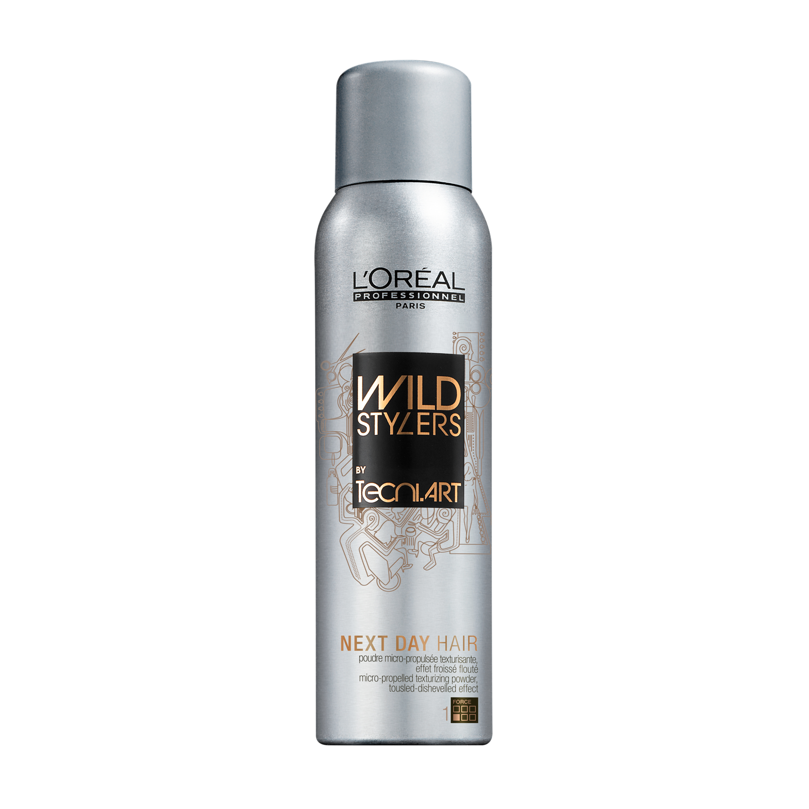 L'OREAL Wild Stylers Tecni Art Next Day Hair 250ml