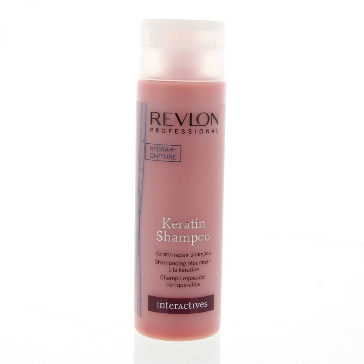 REVLON PROFESSIONAL Interactives Keratin Shampoo 250ml