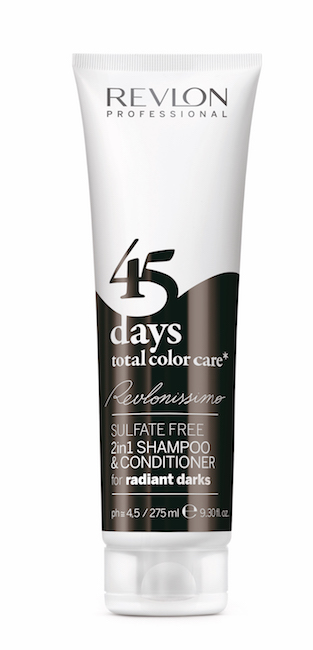 REVLON PROFESSIONAL Sulfate Free 2 In 1 Shampoo & Conditioner Radiant Dark 275ml