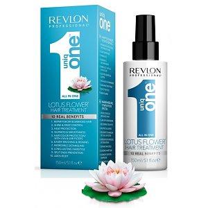 UNIQ ONE Lotus Flower Hair Treatment 150ml protezione spray dal calore di piastre e ferri