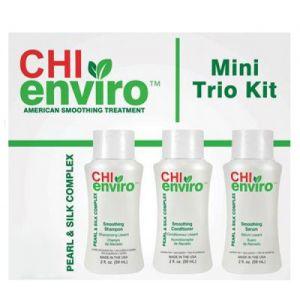 FAROUK CHI Enviro Mini Trio Kit Trattamento Post Casa