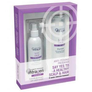 INTRAGEN SOS Calm Shampoo 250ml + Concentrate Treatment 125ml