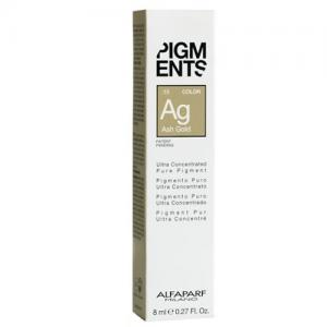 ALFAPARF MILANO Pigments Pigmento Puro 8ml ASH GOLD