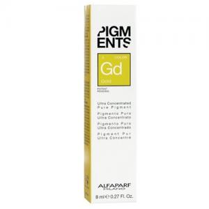ALFAPARF MILANO Pigments Pigmento Puro 8ml GOLD
