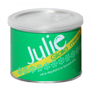JULIE Cera Depilatoria Liposolubile Gialla Miele 400ml
