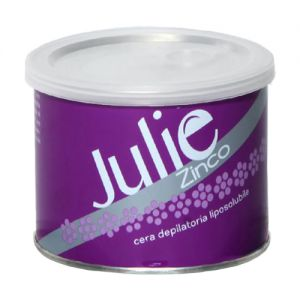 JULIE Cera Depilatoria Liposolubile Zinco 400ml