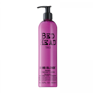 TIGI Bed Head Dumb Blonde Treated Hair Shampoo 400ml