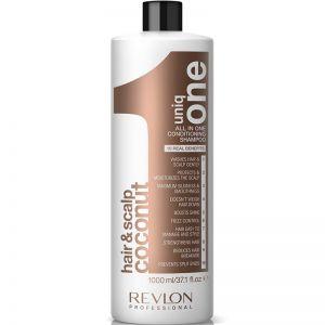 UNIQ ONE All In One Coconut Shampoo & Conditioner 1000ml