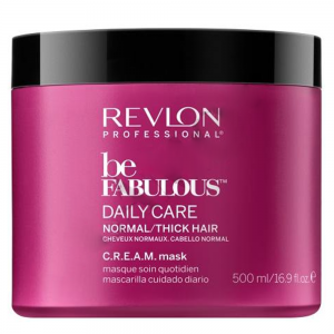 REVLON PROFESSIONAL Be Fabulous Daily Care Normal/Thick Hair Mask 500ml