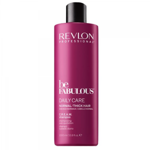 REVLON PROFESSIONAL Be Fabulous Daily Care Normal/Thick Hair Shampoo 1000ml