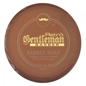 RETRO.GENTLEMAN Barber Soap Schiuma Da Barba 100ml