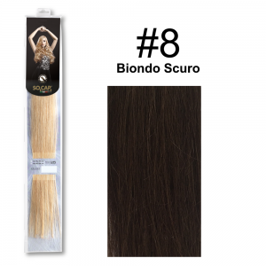 SOCAP Extension Basic 50/55cm 25 Ciocche 8 Biondo Scuro