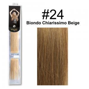 SOCAP Extension Basic Light 50/55cm 25 Ciocche 24 Biondo Chiarissimo Beige