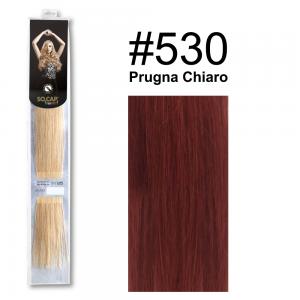 SOCAP Extension Basic Light 50/55cm 25 Ciocche 530 Prugna Chiaro