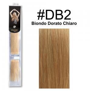 SOCAP Extension Basic Light 50/55cm 25 Ciocche DB2 Biondo Dorato Chiaro