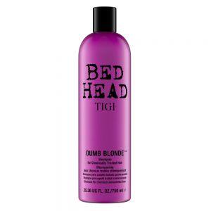 TIGI Bed Head Dumb Blonde Treated Hair Shampoo 750ml