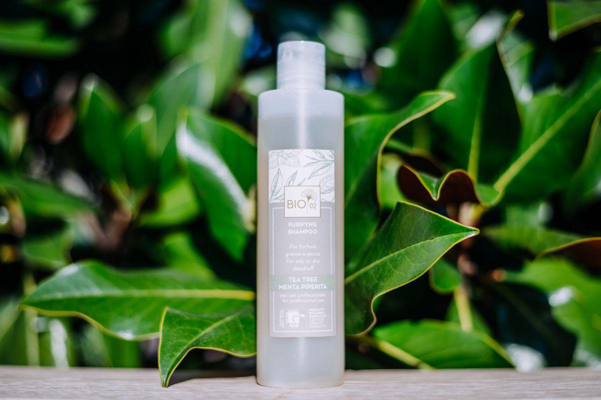 Shampoo Biologico Purifying per cute con forfora 250 ml