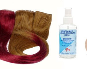 kit extension biadesivo colore Wine Red