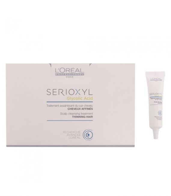 L'OREAL SERIOXYL Scalp Cleansing Treatment 15 x 15ml Capelli Fini