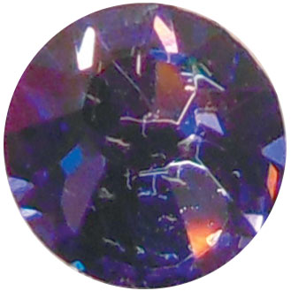 Cristalli ss5 tanzanite